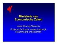 Ministerie van Economische Zaken - Duurzaam Ondernemen