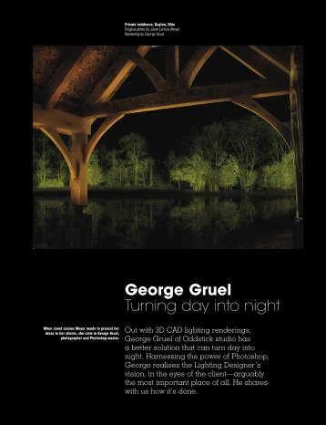 George Gruel Turning day into night - Oddstick