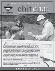Chit Chat Spring 2013 - Geauga Park District