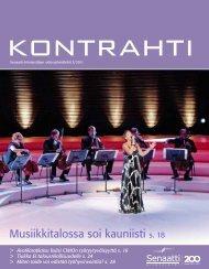 Kontrahti 3/2011 - Senaatti-kiinteistöt
