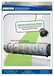 plasma-lsoliermanschetten - plasma GmbH