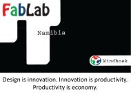 Design is innovation. Innovation is productivity. Productivity is ... - NBIC