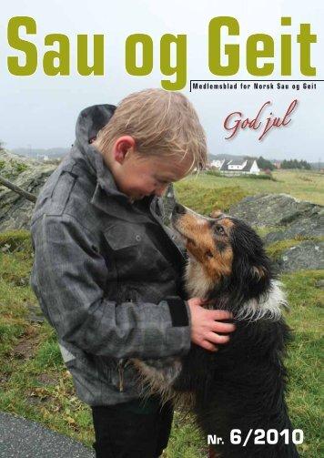 Nr. 6/2010 - Norsk Sau og Geit