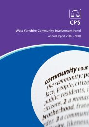 A4 report - Crown Prosecution Service