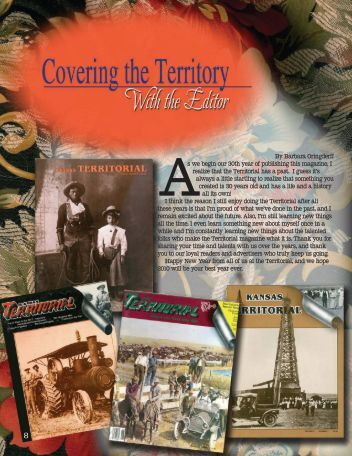Covering the Territory - Territorial Magazine