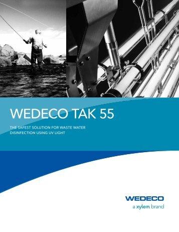 WEDECO TAK55 Brochure - Water Solutions