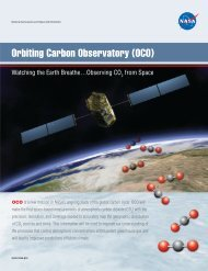 Orbiting Carbon Observatory (OCO) - NASA's Earth Observing System