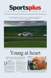 Valentine, 61, enjoys racing against time - and he's ... - RJ Valentine