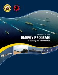 Naval Energy Strategic Roadmap - US Department of the Navy ...
