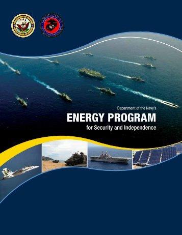 Naval Energy Strategic Roadmap - US Department of the Navy ...