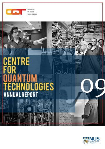 2009 - Centre for Quantum Technologies