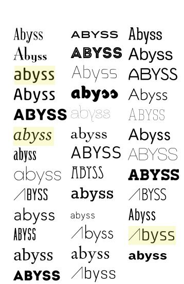 abyss - cdgd34102a12
