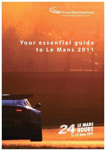 Your essential guide to Le Mans 2011 - Lemansrace.com