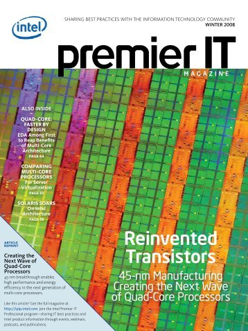 Reinvented Transistors - IT World Canada