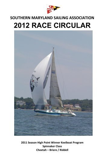 SMSA Race Circular - Chesapeake Bay Yacht Racing Association