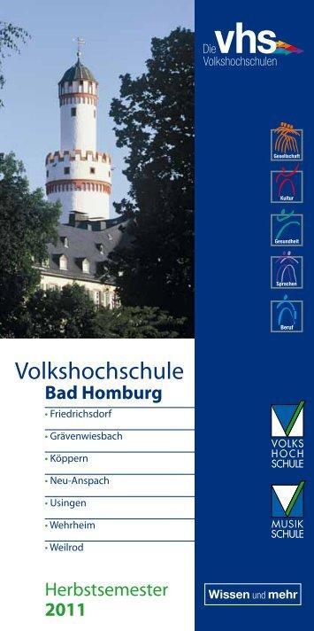 Volkshochschule und Musikschule Bad Homburg