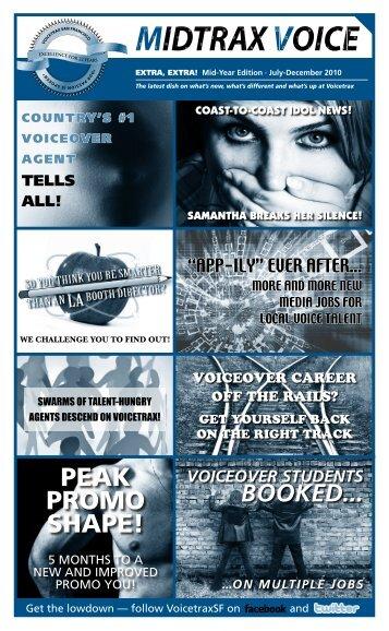PEAK PROMO SHAPE! - Voicetrax SF