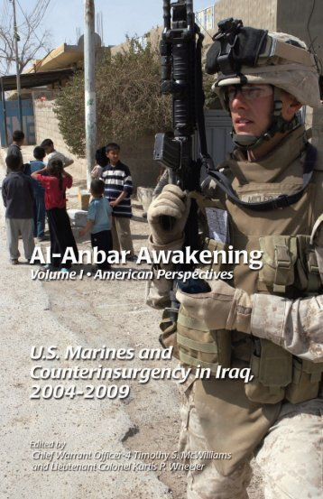 Al-Anbar Awakening Volume I - Headquarters Marine Corps