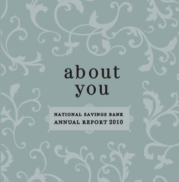 Annual Report 2010 - National Savings Bank
