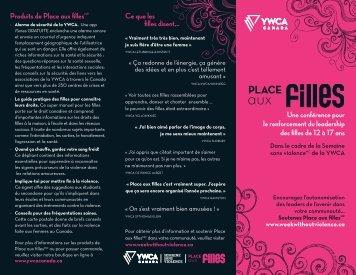 Une conférence pour le renforcement du ... - YWCA Canada
