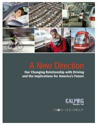 A New Direction: Our Changing Relationship with Driving and the ...