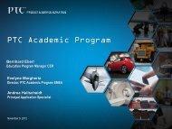 PTC Academic Program - ARGE 3D-CAD