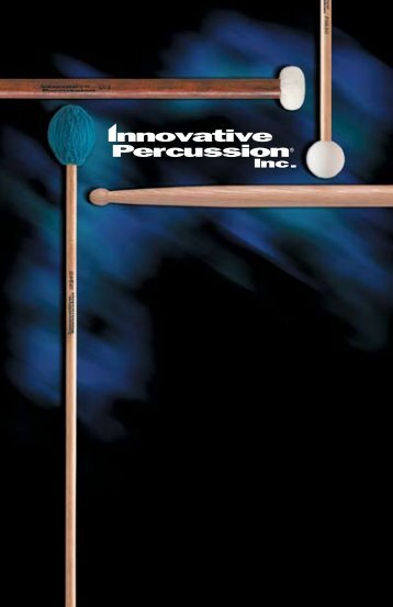 Innovative Percussion - Music Media