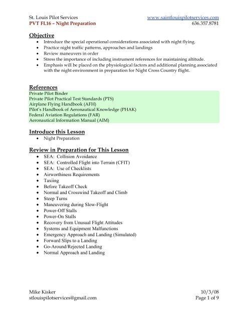 Imsafe Checklist Faa - To Whom It May Concern Letter