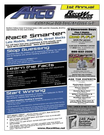 RaceWise Chassis School