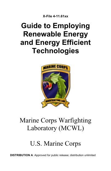 Guide to Employing Renewable Energy and Energy Efficient ...