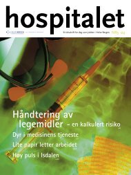 Hospitalet 2004 Nr 3.pdf - Helse Bergen