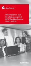 Informationen zum Berufseignungstest - Kreissparkasse Saalfeld ...