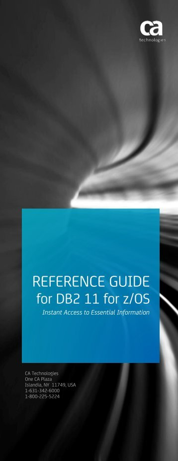 Reference Guide for DB2 11 for z-OS