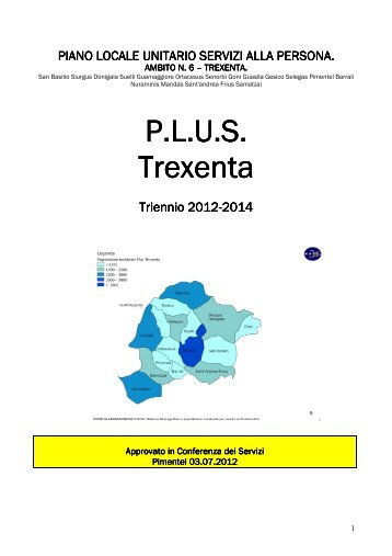 Trexenta 2012-2014 - Sociale - Provincia di Cagliari