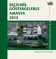 Seçilmiş Göstergelerle Amasya, 2011 - Türkiye İstatistik Kurumu