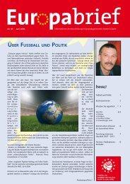 Über Fussball und polItIK - Glante, Norbert