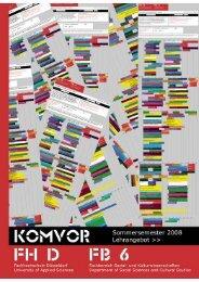 Druckversion (Lehre) [PDF, 0,9 MB] - KomVor - Fachhochschule ...