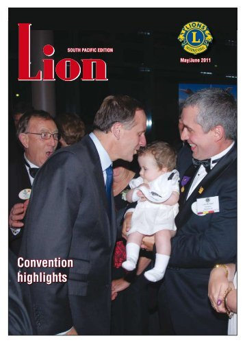 Convention highlights - Lions Clubs New Zealand