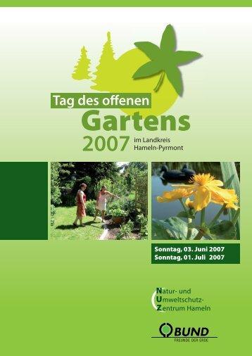 BUND Gartentag 2007 - Hermes-familie.de