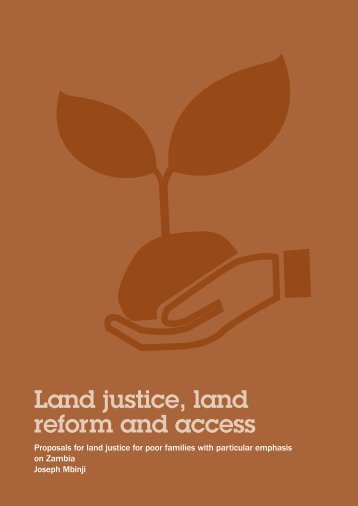 Land justice, land reform and access - Weed