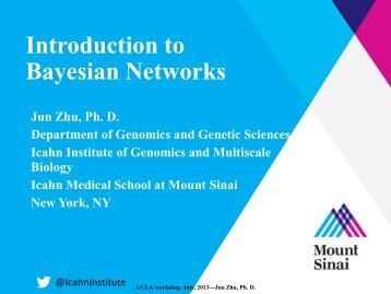 A Bayesian network - UCLA Human Genetics