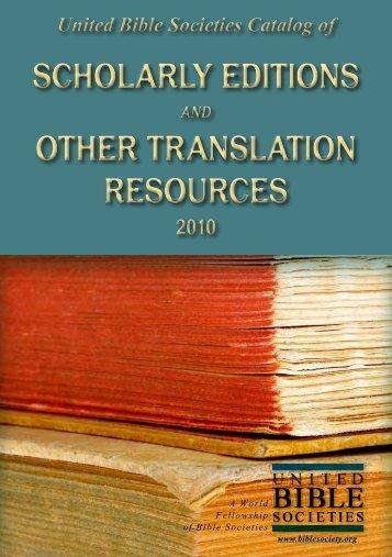 Download the catalog - UBS Translations