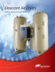 Desiccant Air Dryers - Arnel Compressor
