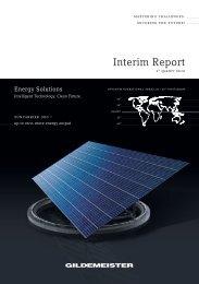 PDF (1.4 MB) - GILDEMEISTER Interim Report 3rd Quarter 2012