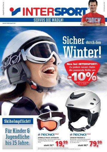Für Kinder & Jugendliche bis 15 Jahre. - INTERSPORT Österreich