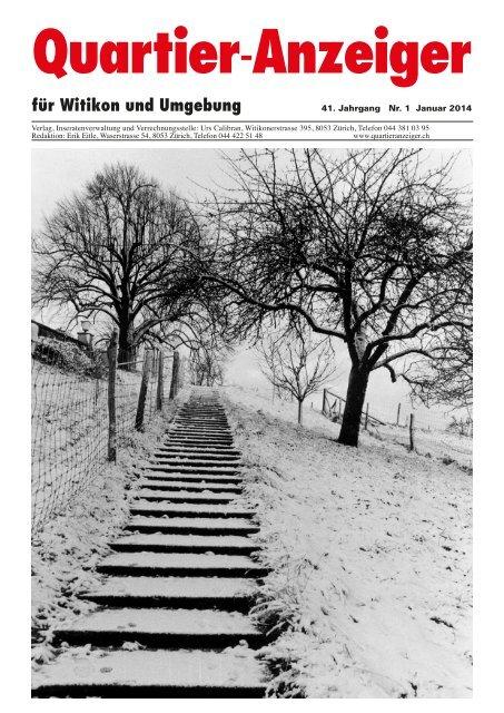 Das lesen Sie in der Januarausgabe - Quartier-Anzeiger Archiv