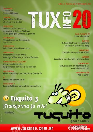 TuxInfo 20 - Index of