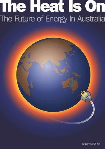 the Energy Futures Forum - wwf - Australia