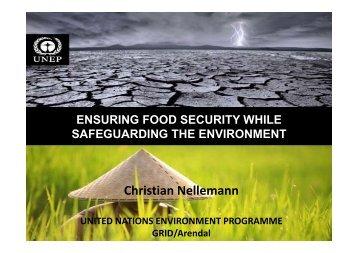 Christian Nellemann - ETH - North-South Centre North-South Centre