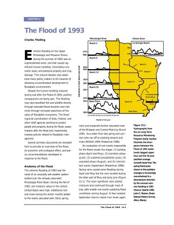 The Flood of 1993 - Upper Midwest Environmental Sciences Center